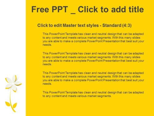 노란 종이꽃 PPT 템플릿 (3).JPG